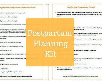 Postpartum Planning Kit