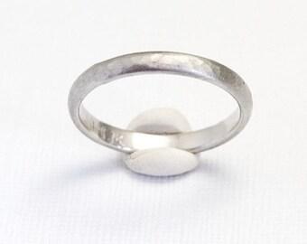 Mens Weddings Ring, White Gold Wedding Ring, Wedding Band, 14k White Gold Band, Thin Band Ring, Unique Band, Wedding Band White Gold, Simple