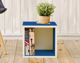 Way Basics Eco Storage Cube Blue-set of 2