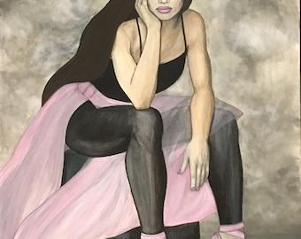 "Original Painting—""Ballerina"""