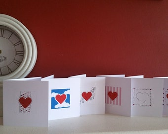 Heart Card Series - Pack of 6