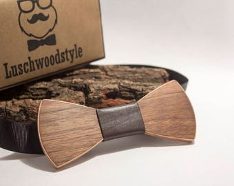 wooden bow tie, wood bow tie, Men's wooden accessories, handmade,Tie Accessories, 100% handmade, handmade wood bow tie, free shipping