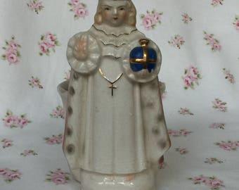 Rare Vintage Infant Jesus of Prague Planter
