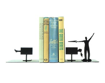 Magician Bookends