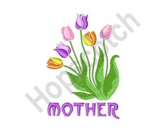 Tulips - Machine Embroidery Design