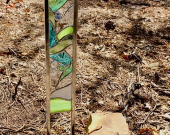 Stained Glass garden stake