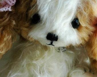Cavalier Puppy dog pattern by bear artist Jenny Lee and jennylovesbenny PDF