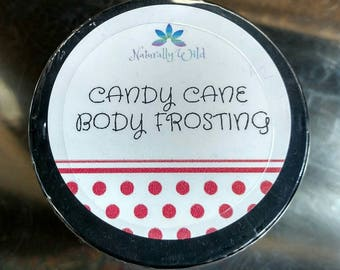 Candycane Body Frosting (Body Butter) Thick, Rich, minty goodness!