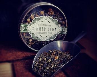 Simmer Down Loose Leaf Herbal Blend: 2 oz tin (Organic)