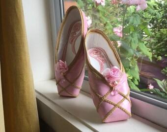 Sugar Plum Fairy Pointe Shoes