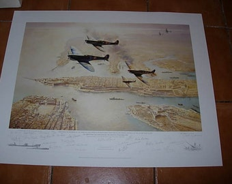 the george cross island association 60 th anniversary limited edition print
