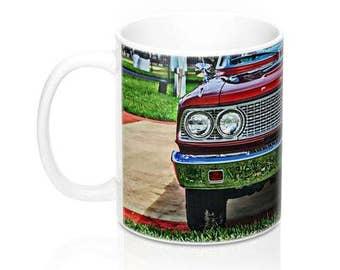 63 Ford Fairlane Coffee Mug, Coffee Mug, Muscle Car Mug, Car Guy Mug, Hot Rod Stainless Steel Travel Mug, Classic Car Mug, Gifts for Men