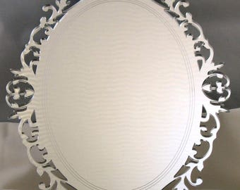Decorative Oval Acrylic Mirror