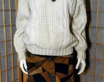 Irish Knit Fishermans Sweater