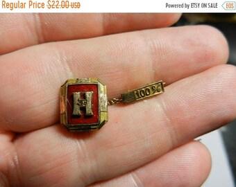 Spring Sale Vintage Gold Filled 1935 100% Graduation School Pin