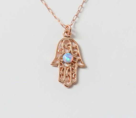 hamsa hand isabella products necklace celini