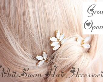 Crystal Hair Pin for Wedding / Hair Pin, Wedding Hair Pin, Bridal Hair Pin, Bride Hair Pin, Gold Hair Pin, Crystal Hair Pin