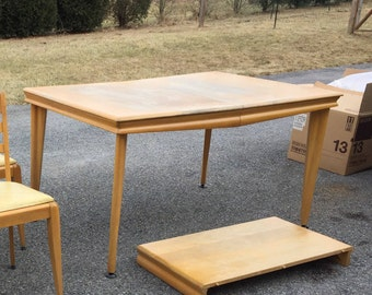 Heywood Wakefield dining table in NEED TO RESTORE condition (Table only)