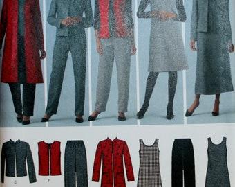 Misses Dress Sewing Pattern - Misses Jacket Pattern - Misses Pants Pattern  - Simplicity 4789 - New - Uncut - Size 10- 12 -14 -16 - 18