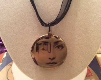 eyes are the window of the soul fortune holder or photo locket