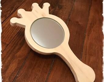 Princess hand mirror