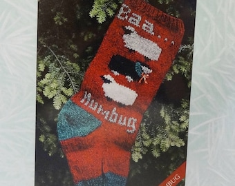 Stash Sale, Sheep Stocking Knitting Kit, Christmas stocking, Sheep, Knitting Kit, Sheep Christmas Stocking