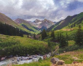 Animas Forks- Colorado - San Juan Mountains - Spring in Colorado - Mining - Ghost Town - San Juan Mountains - Aspen Trees - Quakies
