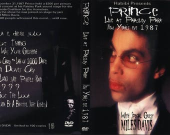 Prince Miles From The Park New Years Eve 1987 live show EX quality!