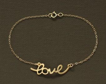 Gold Love Bracelet