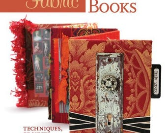 Sale! Fabric Memory Books Techniques, Projects, Inspiration by Lesley Riley