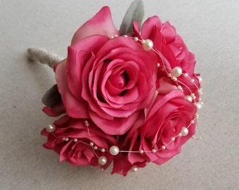 Wedding Toss Bouquet / Throw Away Bouquet