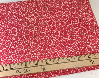 Red Posy, Red Flowers, Katie Jump Rope, Denyse Schmidt, Free Spirit Fabrics, 18 Inches