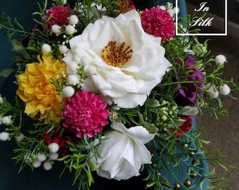 Elegant Bohemian Bouquet, Bridal Bouquet, Garden Bouquet, Boho Bouquet, Rustic