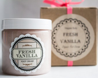 Fresh Vanilla Foot Cream