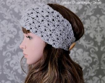 Crochet Pattern - Crochet Headband Pattern - Easy Crochet Pattern - Crochet Pattern Hat - Baby, Toddler, Child, Adult Sizes - PDF 432
