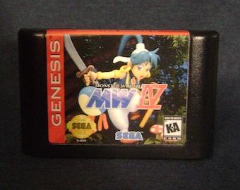 Monster World IV 4 - Sega Genesis - Reproduction Cartridge