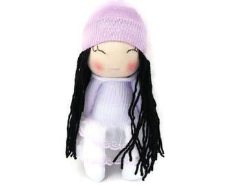 Sock Doll, Soft Doll, Doll, Gift For Girl, Birthday Gift, Handmade Doll, Sock Dolls, Rag Doll, Fabric Doll, My First Doll, My First Doll