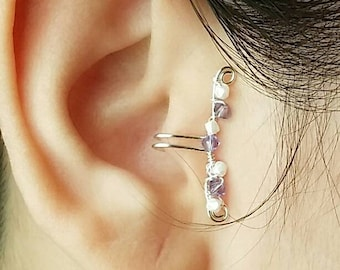 Faux Tragus Bar - Fake Tragus Earring