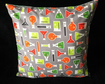SALE! Breaking Bad Science Scientist Chemicals Laboratory Student Geek Walter White Heisenberg handmade home decor cushion pillow