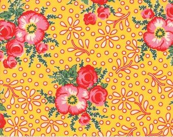 Yellow Merry Go Round Fabric - 21720 14 - American Jane - Moda
