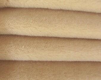 SAVE MONEY - 30.75 - Etsy Special - Quality ALP7/S - Alpaca  - 1/4 yard (Fat) in Intercal's Color 533S-Wheat. A German Alpaca Fur Fabric