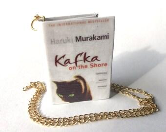 Miniature Kafka On The Shore Necklace/Keychain