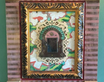 Querida Hija (Dear Daughter) - Framed Mexican Nicho