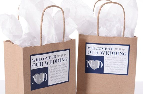 Wedding Hotel Guest Gift Bags: Hotel Wedding Welcome Bags 25 Out Of Town Welcome Bags