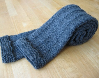 Timothy Herringbone Scarf knitting pattern (pdf digital download)