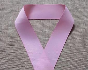 Pink Grosgrain Ribbon, 1.5 In Pink Ribbon, Solid Color Ribbon, Sewing Ribbon, Craft Ribbon, Hairbow Ribbon, Scrapbook Ribbon, 1.5 In Ribbon