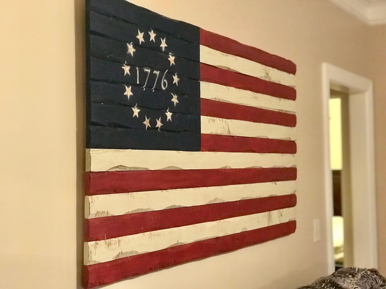 Unique Wooden American Flag Wall Art Gallery - Art & Wall Decor ...