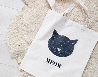 Cat tote bag, cat lover gift, canvas tote bag, cat bag, cat purse, handbag, cats, eco bag, cat tote, tote, cat gift, market bags