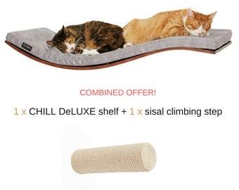 wave shelf * cat shelf * climbing step * cat perch * cat super offer * cat bed *cat furniture * cats shelves * scratching post * sisal post