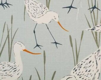 Coastal Sandpiper Decorative Pillow Covers-20x20-Coastal Pillows-Nautical Pillows-Accent Pillows-Toss Pillows-Euro Shams-Beach Pillows-Bird